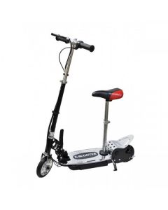 Kids Black E-scooter 140w + Seat