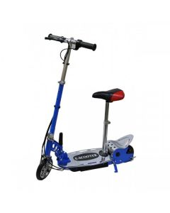 Kids Blue E-scooter 140w + Seat