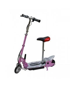 Kids Pink E-scooter 140w + Seat