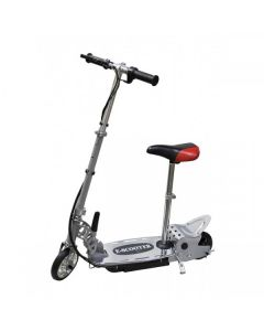 Kids Silver E-scooter 140w + Seat