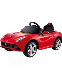 12v Red Licensed Ferrari F12 Ride on Car with Parental Remote Control