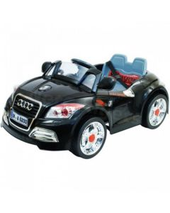 12v Black Audi Battery Kids Electric Ride On Toy Car + Parental Remote Control Mp3
