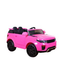 Pink  SUV Jeep Style 12v Electric Ride On Car + Parental Remote Control