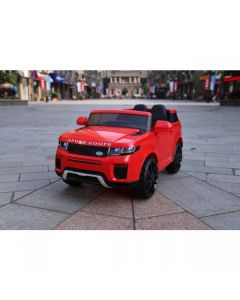 Red  SUV Jeep Style 12v Electric Ride On Car + Parental Remote Control