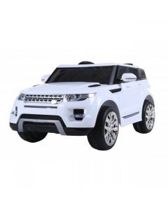 White Range Rover Vogue HSE Style 12v Electric Ride On Car + Parental Remote Control