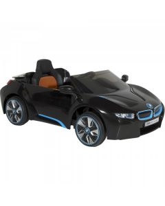 Official Licensed BMW i8 12v Electric Ride On Car + Parental Remote Control Black