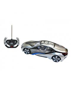 New Licensed R/C BMW i8 Car - Silver