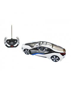 New Licensed R/C BMW i8 Car - White