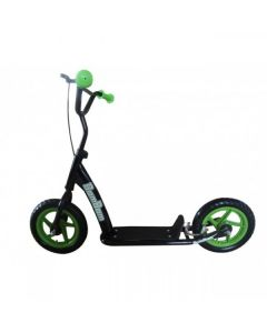 BamBam BMX Style Kick Scooter Green/Black