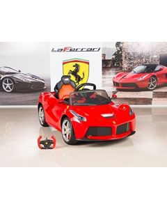 Official Licensed Red Laferrari 12v Electric Kids Ride On Car With Parental Remote