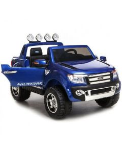 Blue 12v Licensed Ford Ranger Pickup Truck Ride on 2 seater