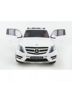 Licensed White 12v Mercedes GLK Ride on Jeep with Parental Remote Control