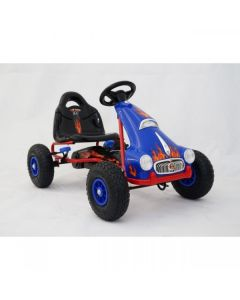 Kids Ride on Pedal Go Kart - Blue