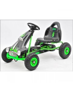 Kids Ride on Pedal Go Kart - Green