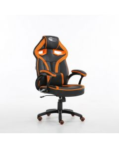 Orange Bucket Racing Gaming Office Chair