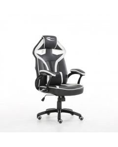White Bucket Racing Gaming Office Chair