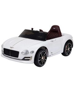 12v White Licensed Bentley EXP12 Concept Ride on Car with Parental Remote Control