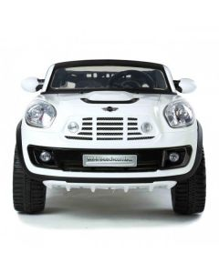 12v Ride On Electric White Official Mini BeachComber Car with Parental Remote Control