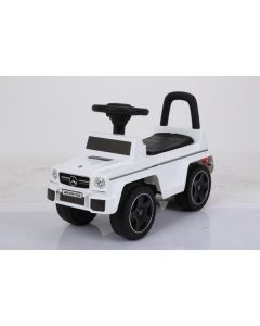 White Licensed Mercedes G63 AMG Foot To Floor Ride On