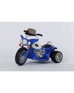 Kids Electric 6v Ride on Motorbike - Blue