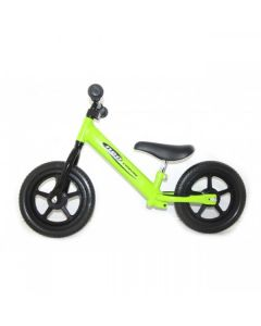 Green Kids Balance Training First Bike Bicycle Lightweight Steel Girls Boys Childrens