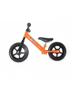 Orange Kids Balance Training First Bike Bicycle Lightweight Steel Girls Boys Childrens