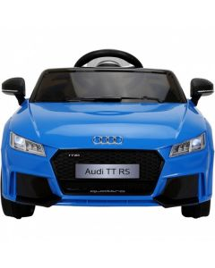Licensed 12v Audi TT RS with Parental Remote Control - Blue