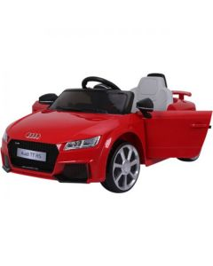 Licensed 12v Audi TT RS with Parental Remote Control - Red