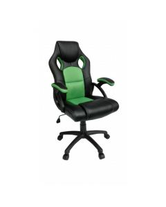 Lime Green and Black Racing Bucket Office Chair