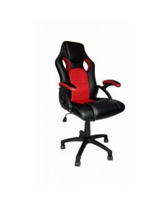 Red and Black Racing Bucket Office Chair