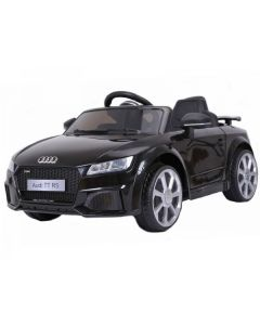 Licensed 12v Audi TT RS with Parental Remote Control - Black