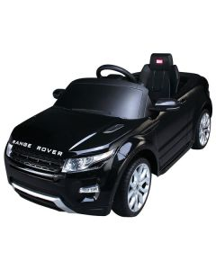 Licensed Black Range Rover Evoque 12v Electric Ride On Car + Parental Remote Control