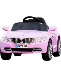 12v Pink Coupe Style Ride on Car with Remote Control